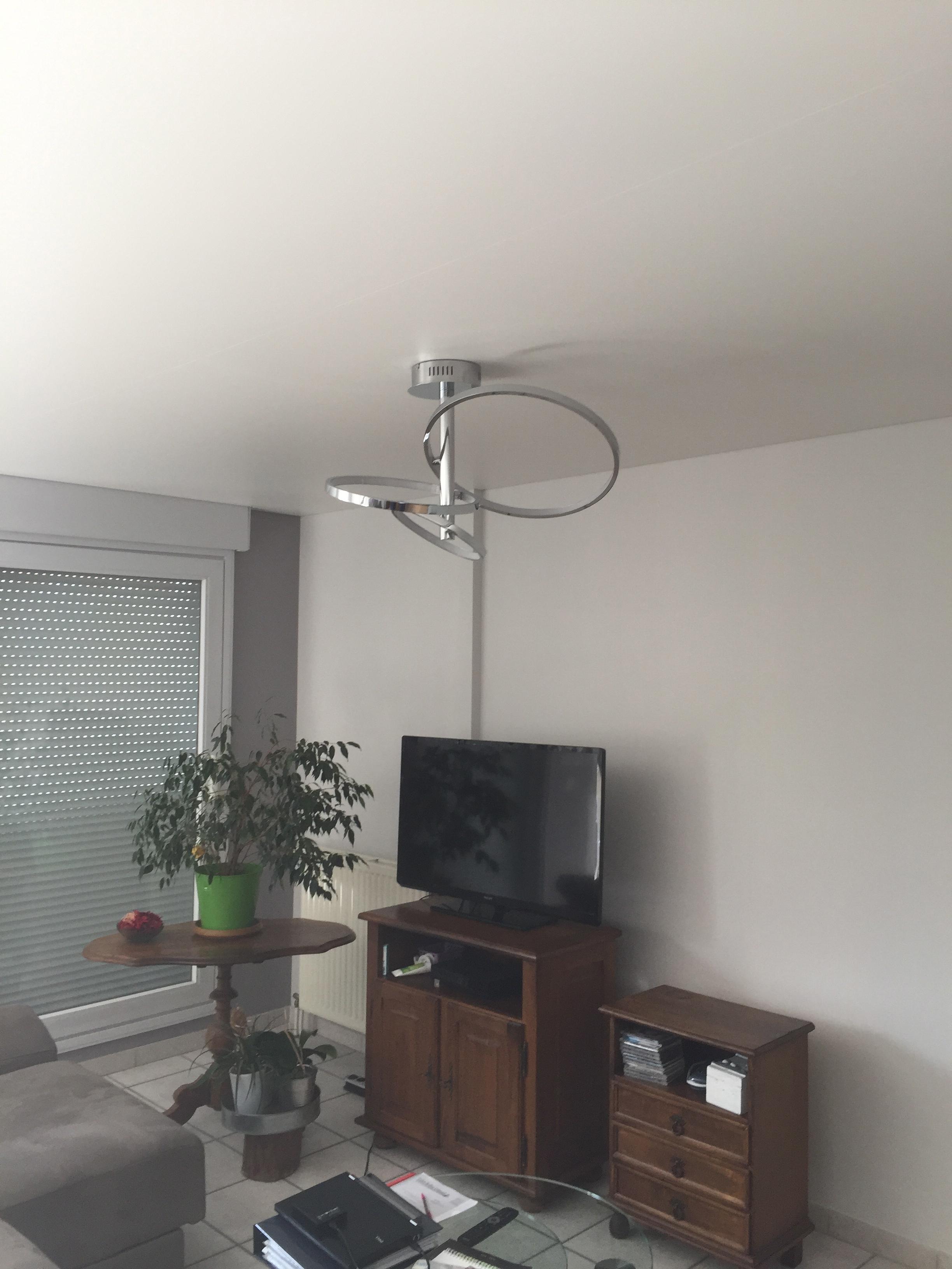 bande fissure plafond