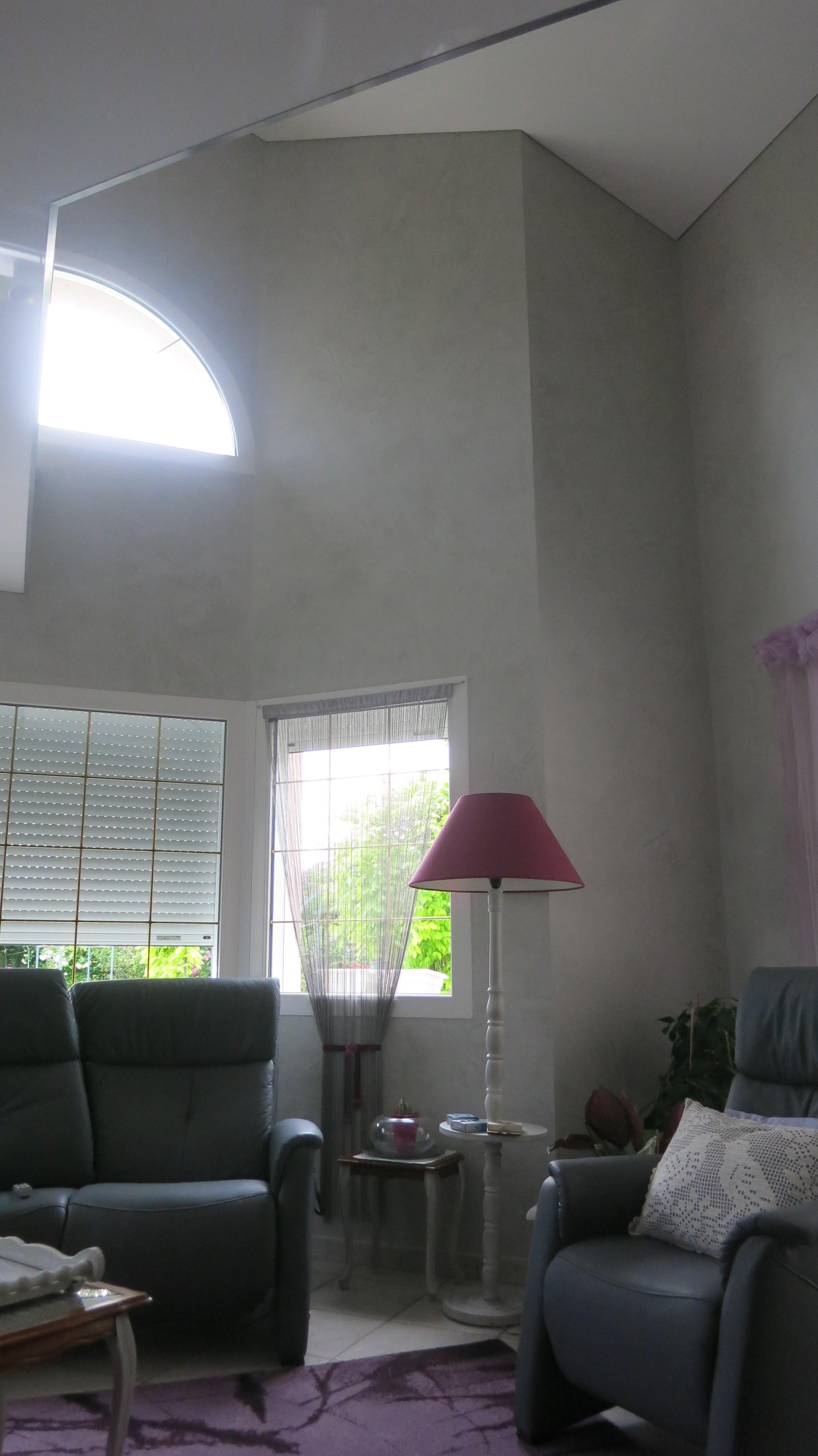 Plafonds tendus voiron grenoble isere for Plafond en stucco